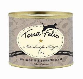 Terra Felis Premiumnassfutter für Katzen