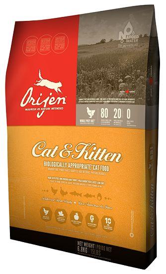 Neue Rezeptur und neue Verpackung beim Orijen Katzenfutter